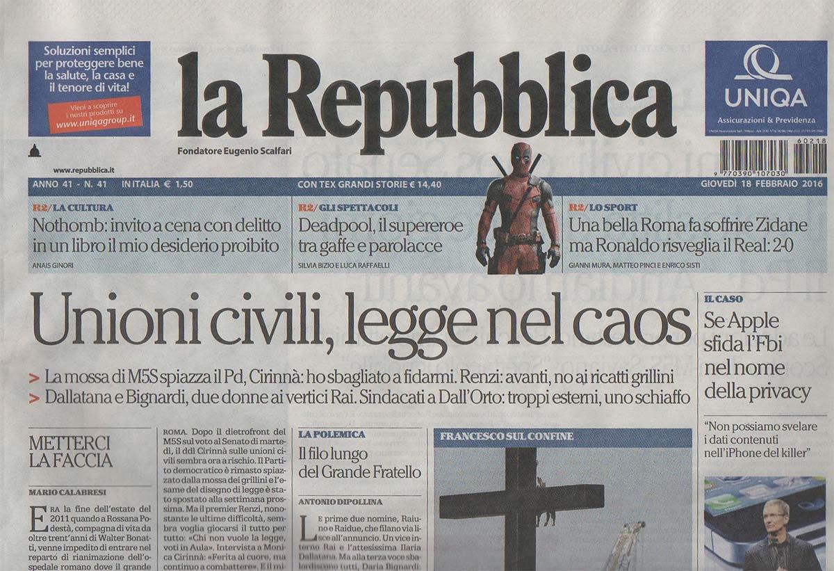 La Repubblica e Puerto Mexico